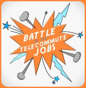 Battle of the Telecommute Jobs Logo Fn-001