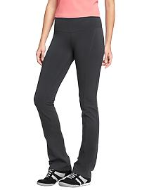 Women's Boot-Cut Yoga Pants - Carbon