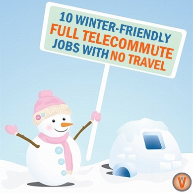 Full Telecommute Jobs with No Travel
