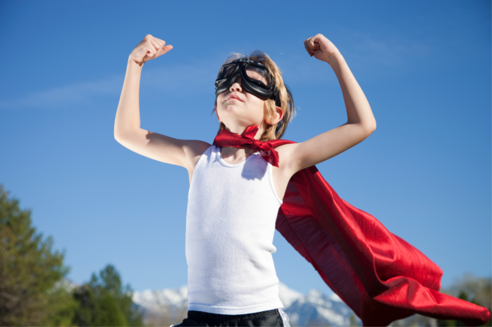 Как сделать себя супер сильным