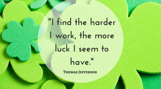 St. Patrick's Day Inspiration Quote