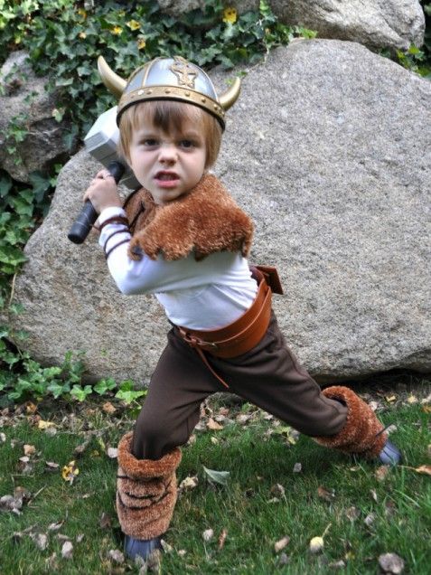 5 easy homemade costumes for boys