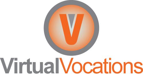 Logo Virtual Vocations, trabajos remotos