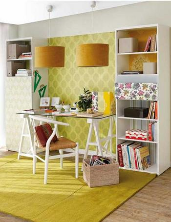 Cheerful Yellow Home Offices Telecommute And Remote Jobs