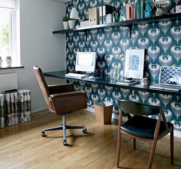 Groovy Blue Home Office Ideas Archives Virtual Vocations Largest Home Design Picture Inspirations Pitcheantrous