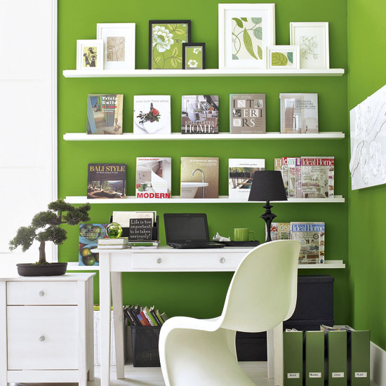 Gorgeous Green Home Offices Remote