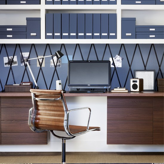 Admirable Blue Home Office Ideas Archives Virtual Vocations Largest Home Design Picture Inspirations Pitcheantrous