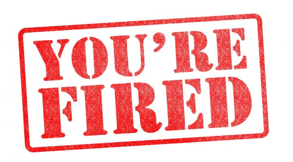 how to handle getting fired