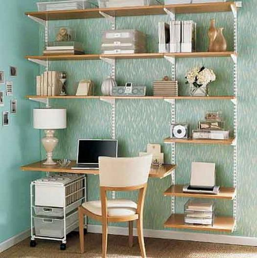 Small home office archives telecommute and remote jobs career tips - Home office for small spaces photos ...