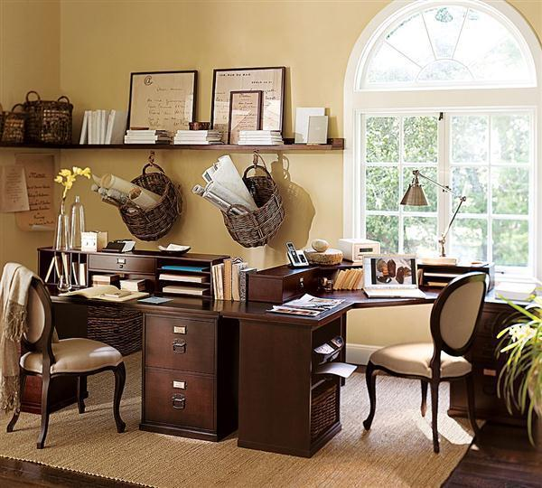 Breathtaking Beige Home Offices