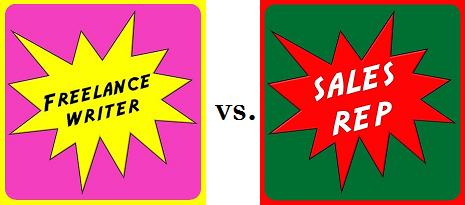 Telecommute Jobs Battle: Freelance Writer vs  Sales