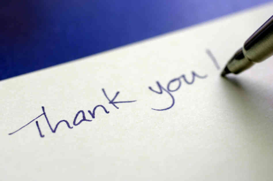 The Power Of Thank You Notes Virtual Vocations