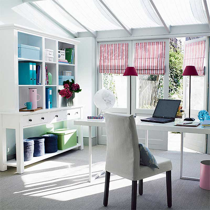 use natural light natural lighting home office