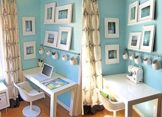 calming blue home office calming office colors