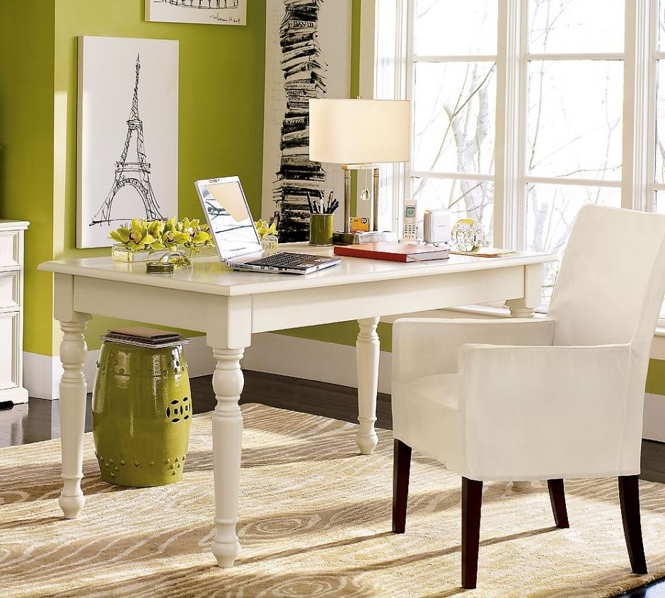 Wonderful White Home Offices - Virtual Vocations