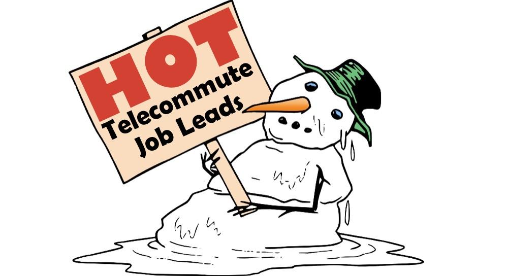 hot telecommute jobs