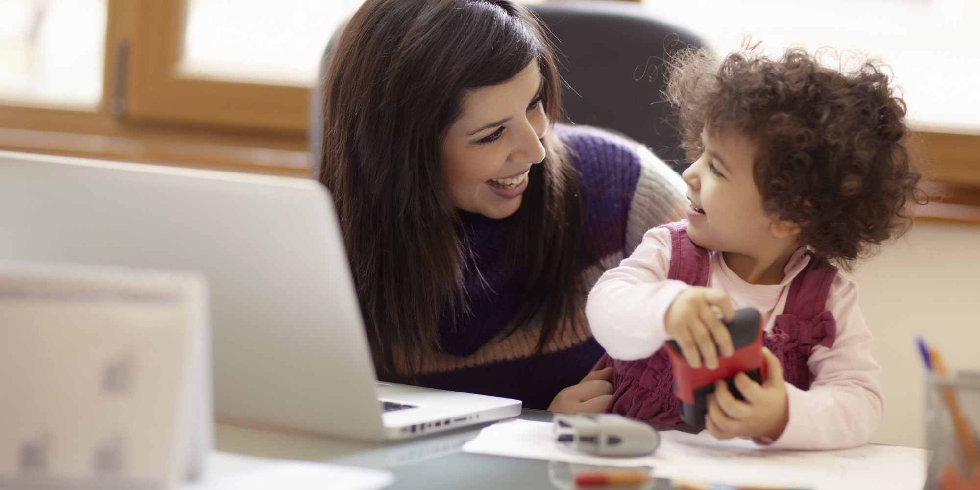 why telecommuting works for work at home moms