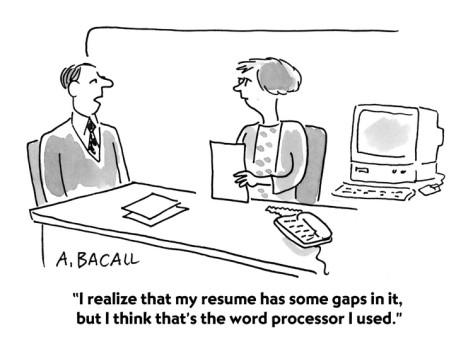 shorten your resume