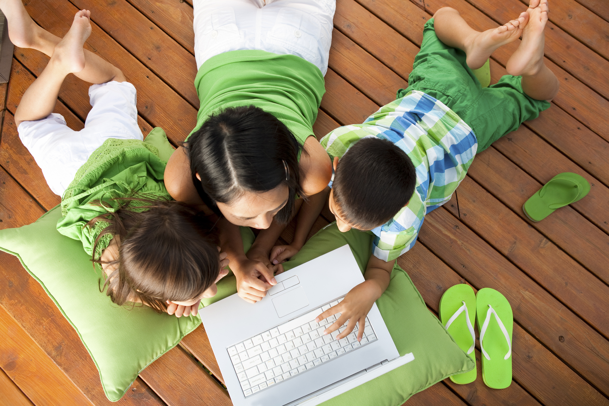 telecommuting families