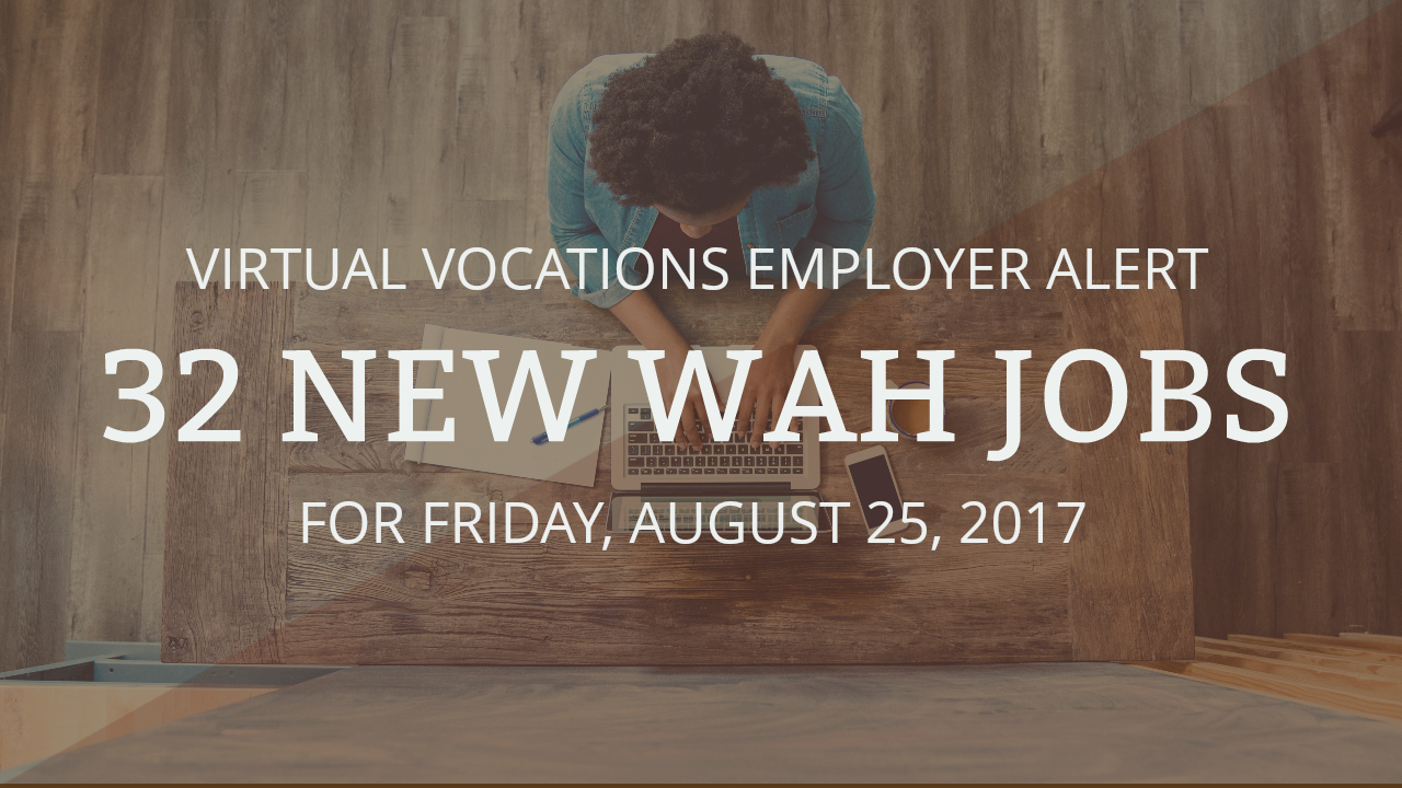 new wah jobs