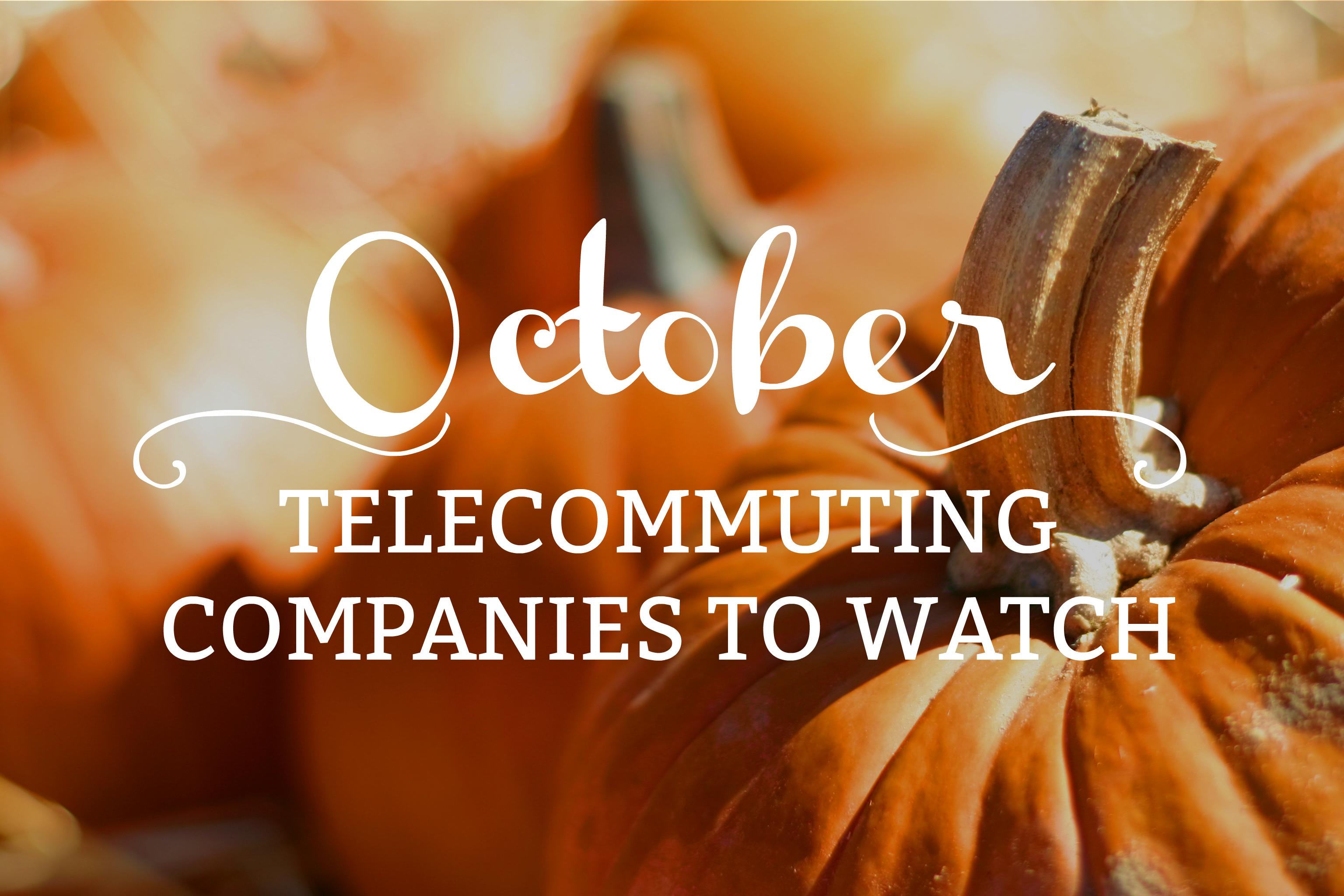 telecommuting companies
