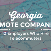 remote Georgia companies
