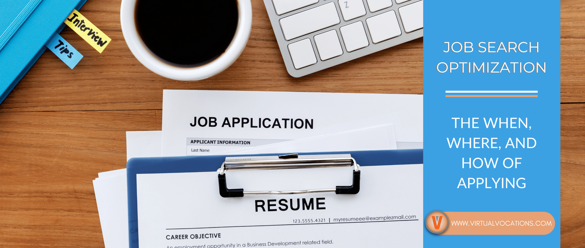 Learn how to optimize your job search when applying.
