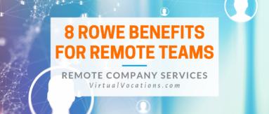 Virtual Vocations - ROWE Management Benefits