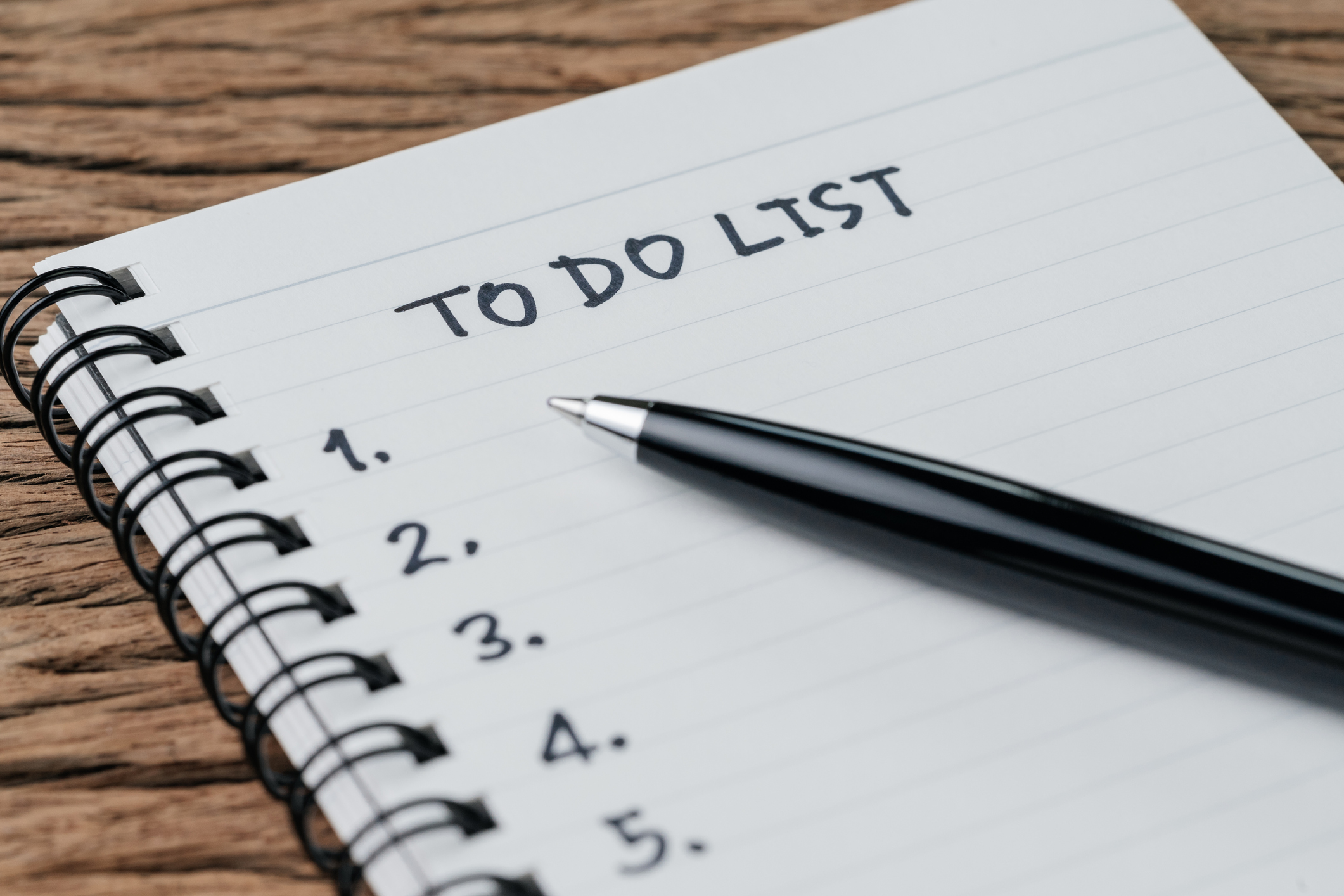 to-do list - digital nomad productivity tips - Virtual Vocations telecommute and remote jobs
