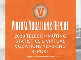 Virtual Vocations 2018 telecommuting statistics