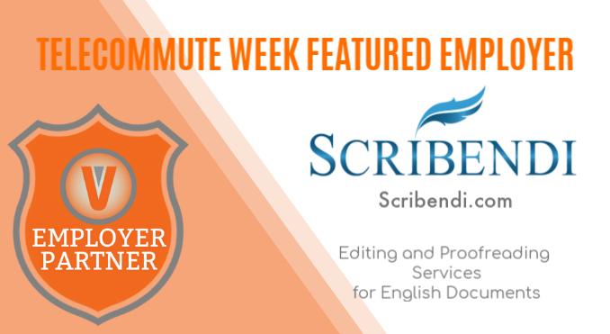 Telecommute Week Feature Scribendi Freelance Editors