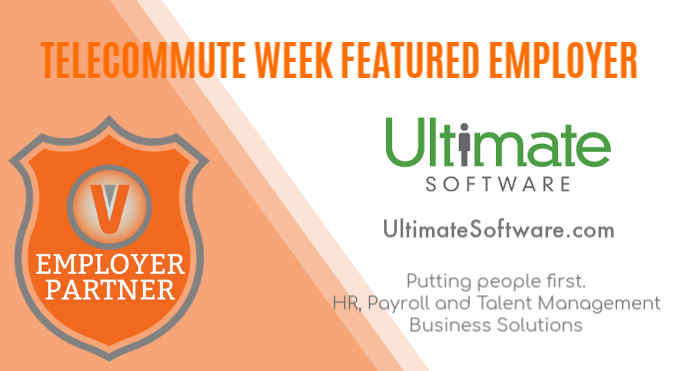 Telecommute Week Ultimate Software Remote Jobs