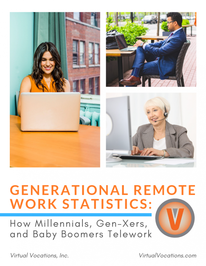 Virtual Vocations Generational Remote Work Statistics