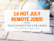 Virtual Vocations - July Remote Jobs - Telecommute and Remote Jobs