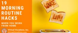 Virtual Vocations - Morning Routine Hacks