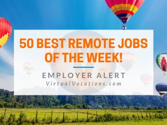 Virtual Vocations - 50 Best Remote Jobs
