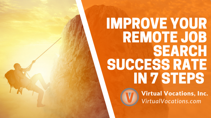 Virtual Vocations - Improve Remote Job Search Success Rate