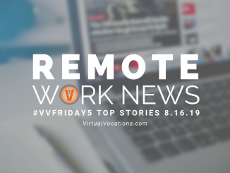 cybersecurity concerns - Virtual Vocations - remote work news - VV Friday 5