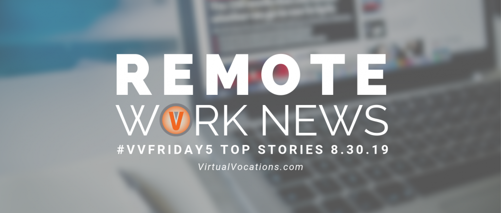 bridging employment gaps - Virtual Vocations VVFriday 5 Remote Work News