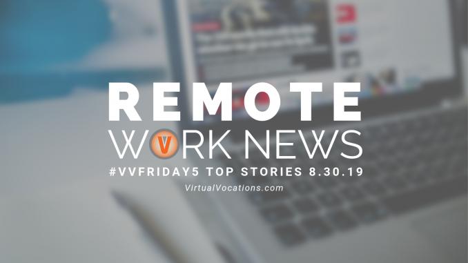 bridging employment gaps - Virtual Vocations VVFriday 5 Remote Work News