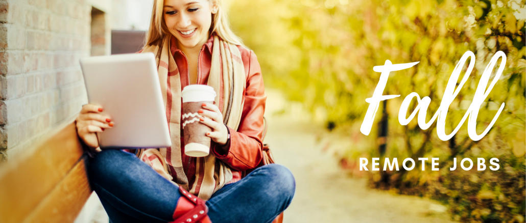 fall remote jobs search - Virtual Vocations telecommute and flexible jobs