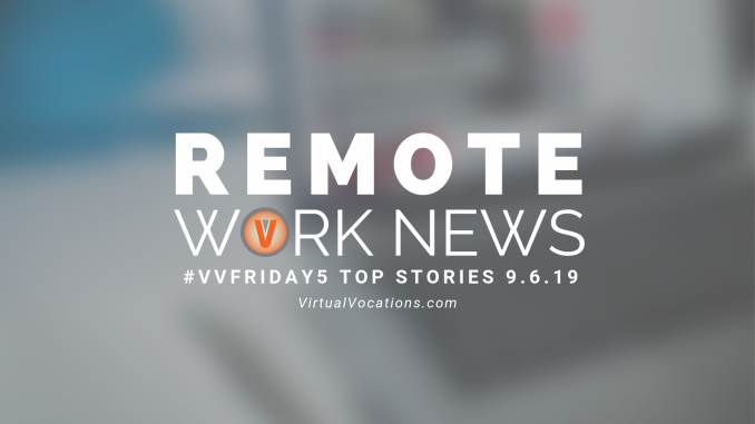 Hurricane Dorian - Virtual Vocations - Remote Work News - VVFriday5