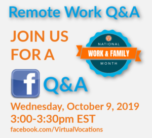 Remote Work Q&A NWFM Virtual Vocations