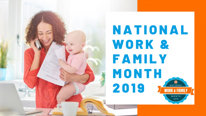 National Work and Family Month 2019 Event