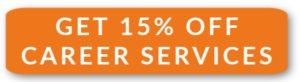 Get 15% off career services