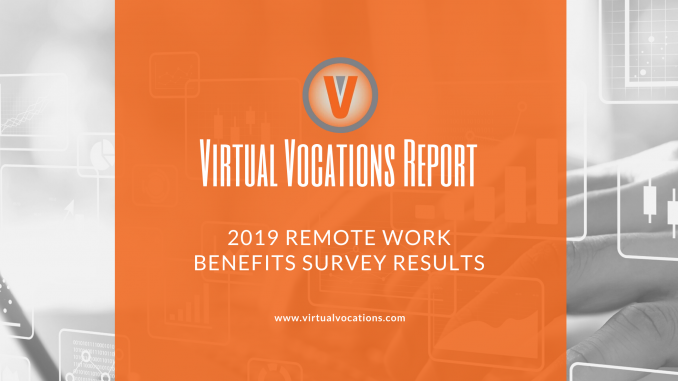 2019 Remote Work Benefits Survey Results