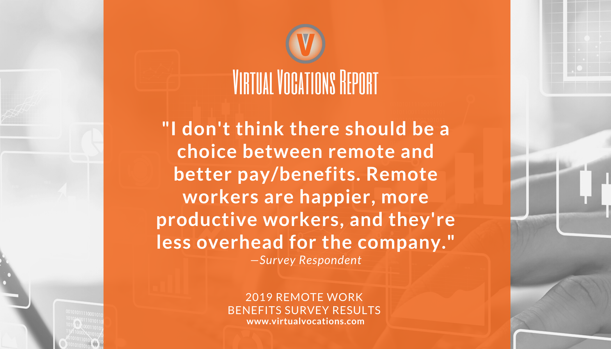 2019 Remote Work Benefits Survey Response - Virtual Vocations telecommute and remote jobs