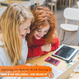 Millenials GenZ Remote Work Week 2020