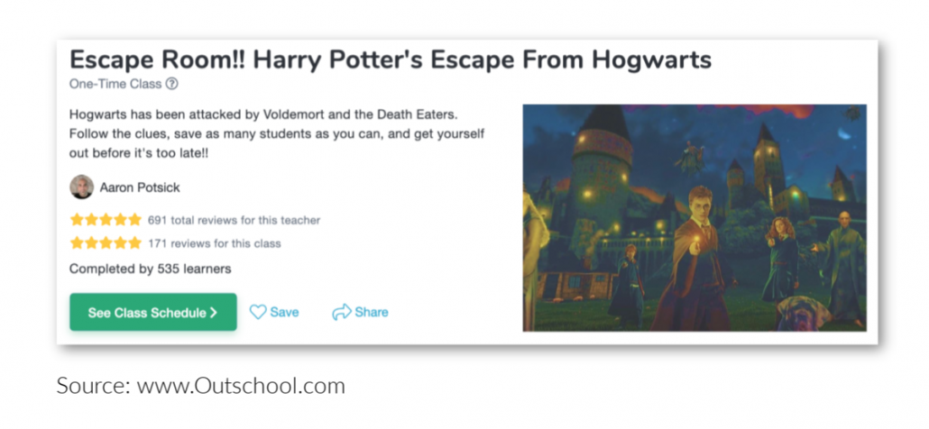 unique educational online websites