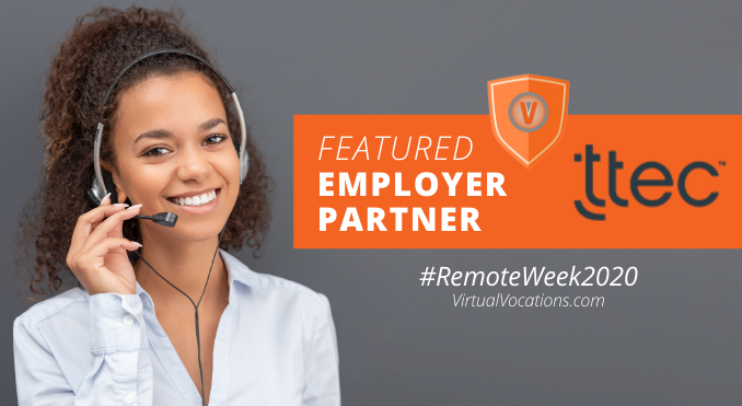 remote work week featured employer partner ttec